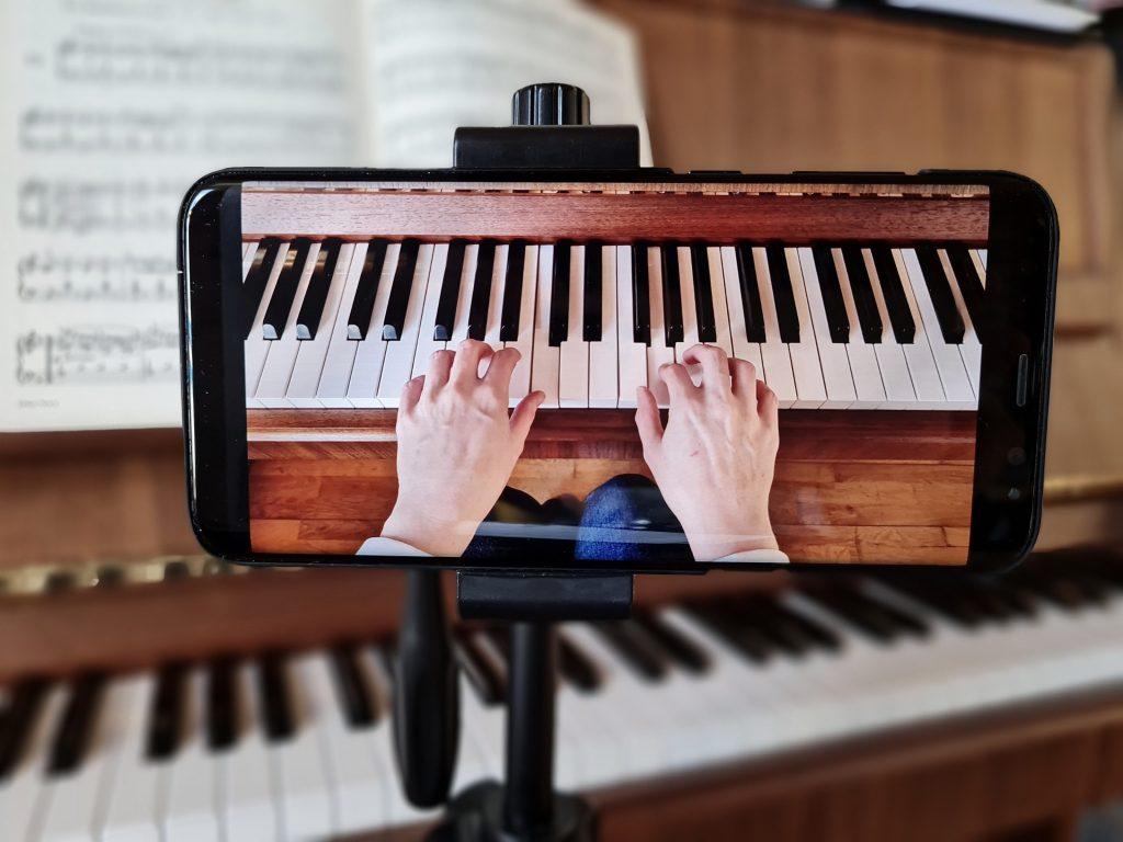 Klavierunterricht Onlineunterricht